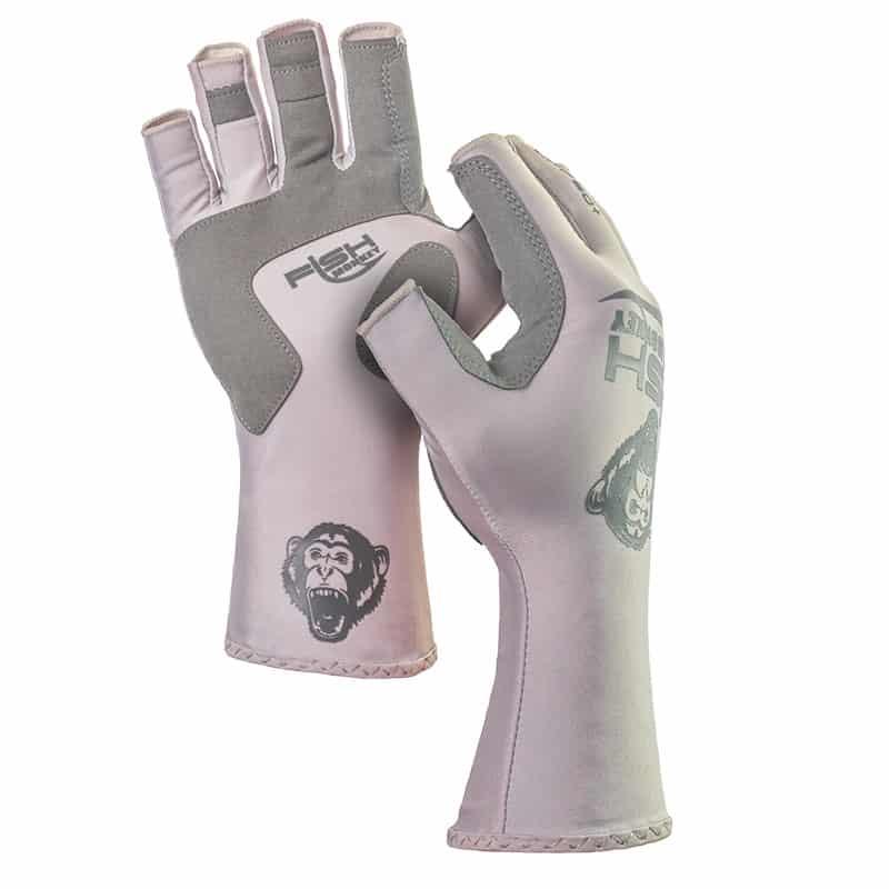 Fish monkey half finger guide glove salty hook for Fish monkey gloves