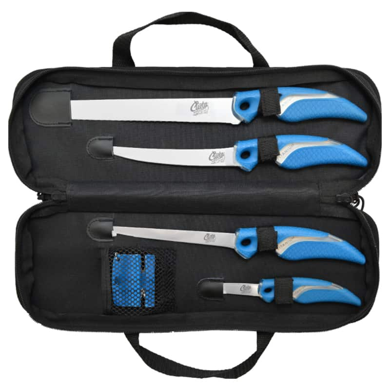 6 PIECE KNIFE & SHARPENER SET