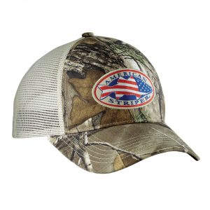Flying Fisherman American Striper Realtree Camo Trucker Hat