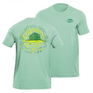 Flying Fisherman Chalk Sailfish Tee Mint