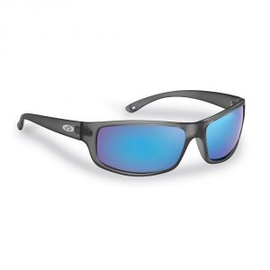 Flying Fisherman Sunglasses Slack Tide Granite Smoke Blue Mirror