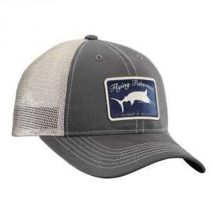 8178e94021c ... Flying fisherman Marlin Trucker Hat Graphite Stone. Compare Quickview.  Clothing