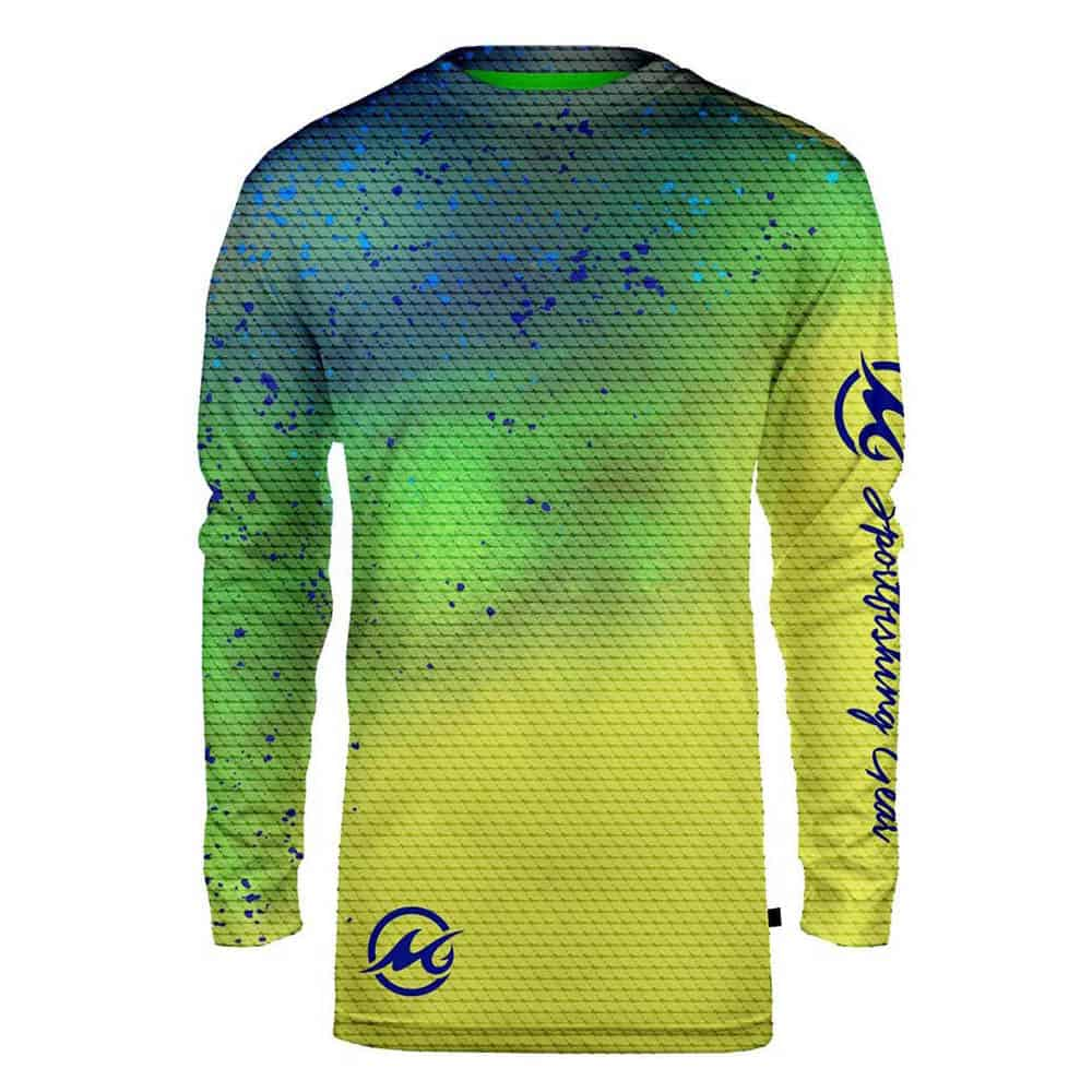 Mojo Sublimated Wireman Dolphin Front
