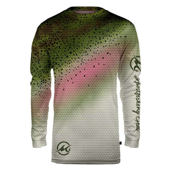 Mojo Sublimated Wireman Rainbow Trout Front