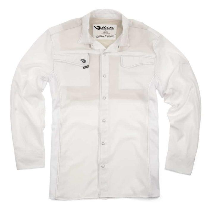 Mojo Mr Cool Long Sleeve White