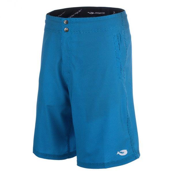 Mojo Blue Dot Tec Board Shorts