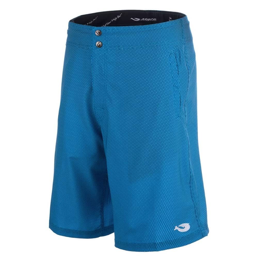 Mojo Blue Dot Tec Board Shorts